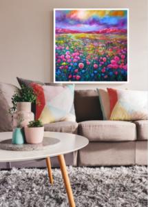 Mountain Prairie Wildflowers by Helen Blair