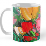 Tulips Mug by Helen Blair