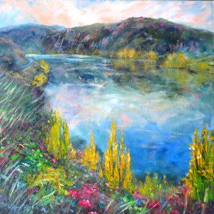 Lake Dunstan, by Helen Blair